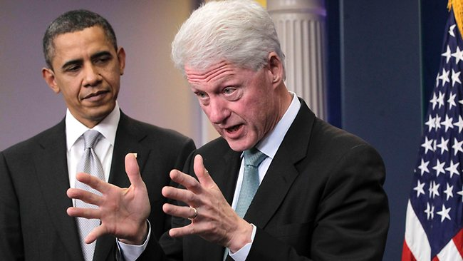 012380 120501 Obama And Clinton