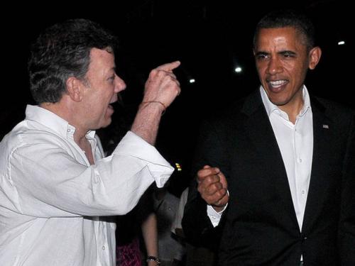 500 375 6709 Americas Summit Obama Colombia Juan Manuel Santos B 120414 Aap