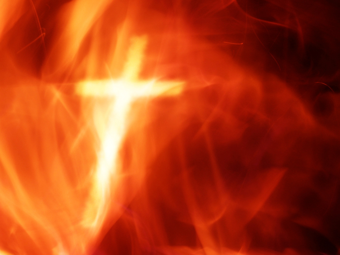 Cross And Fire