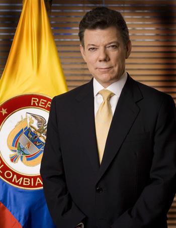 Juan Manuel Santos Calderon Colombia
