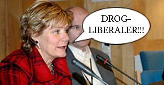 Maria Larsson Drogliberaler